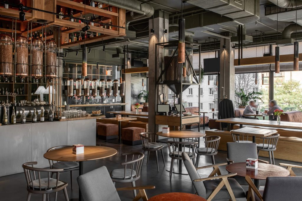 Arredamento Ristorante Bar Caffetteria