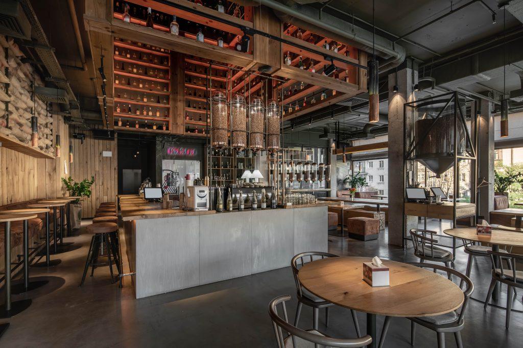 Arredamento Ristorante Bar Industrial Café