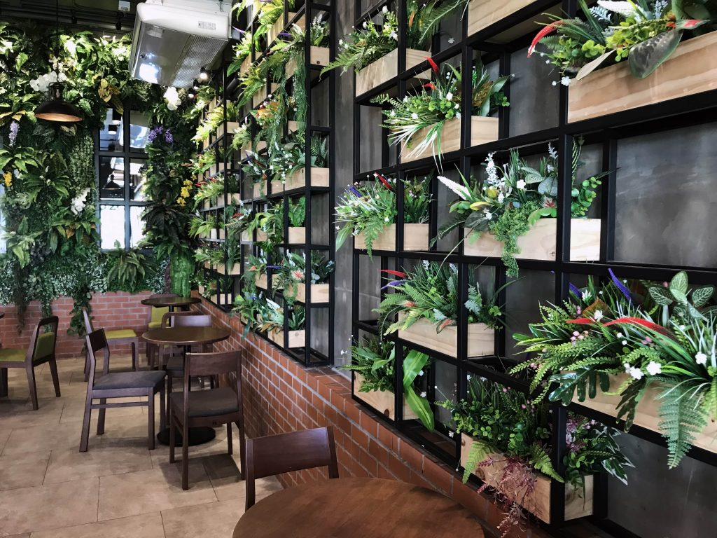 Arredamento Ristorante Green Sostenibile