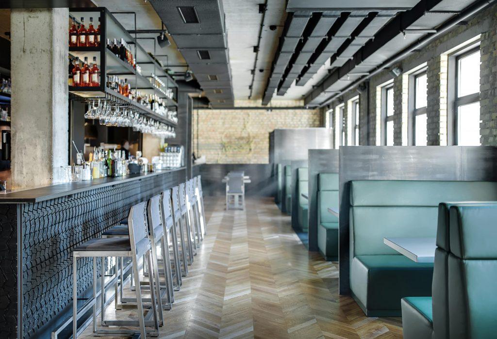 Arredamento Ristorante Stile American Bar