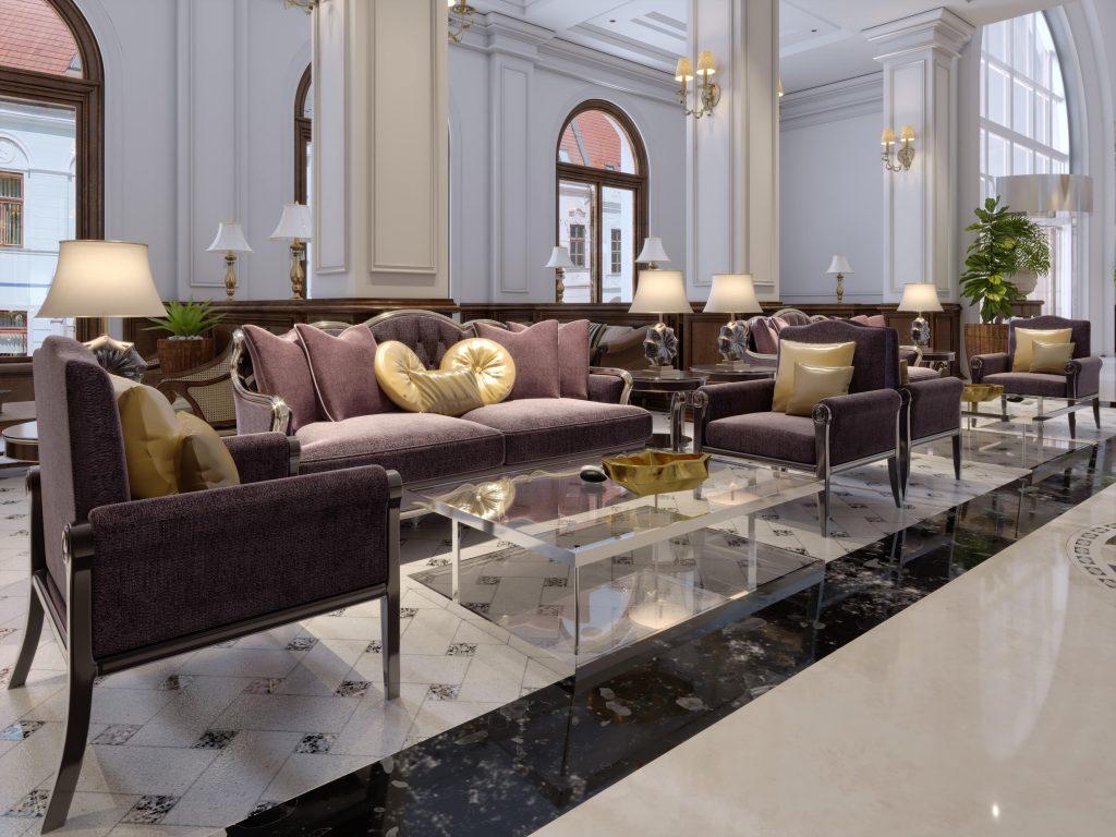 Arredamento Ristorante stile Hotel Hall