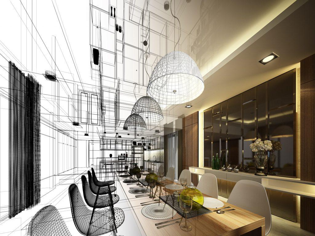 Arredamento Ristorante stile moderno lounge Hotel
