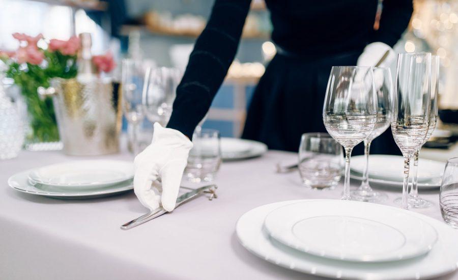servizio al tavolo ristorante