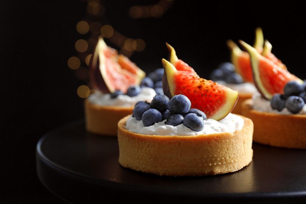 impiattamento dessert