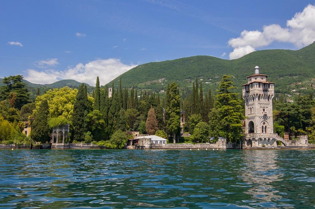 Gardone riviera Lombardia Italia